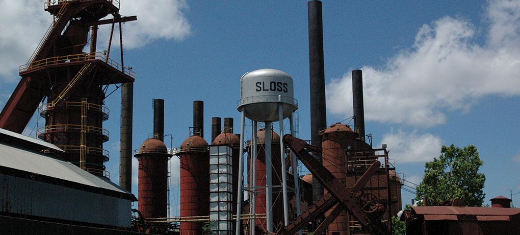 Sloss Furnaces National Historic Landmark - Birmingham, Alabama